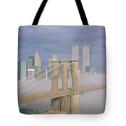 This Is The Brooklyn Bridge Tote Bag