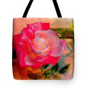 This Rose Reminds Me Of You Tote Bag