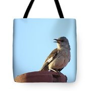 This Spring's Mockingbird Tote Bag