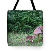 This Standing Up Is Hard Mom Tote Bag