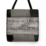 This Way To The Birth Place Tote Bag
