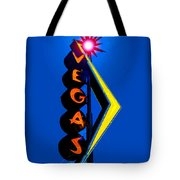 This Way To Vegas Tote Bag