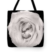 This White Rose Tote Bag