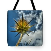 Thistle And Sky Tote Bag