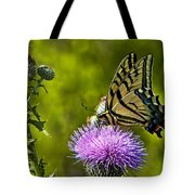 Thistle Do Just Fine Tote Bag
