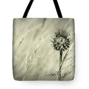 Thistle - Dreamers Garden Series Tote Bag
