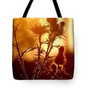 Thistle Edge Glow Tote Bag