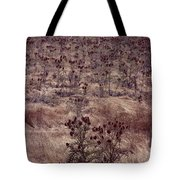 Thistle Field Tote Bag