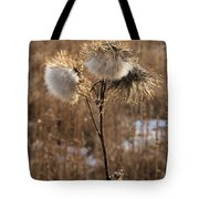 Thistle Fluff Tote Bag