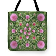 Thistle Star Mandala Tote Bag