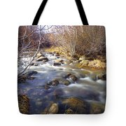 Thomas Creek Tote Bag