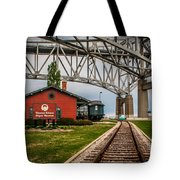 Thomas Edison Museum And Rr Track Tote Bag
