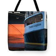Thomas Laighton In Port Tote Bag