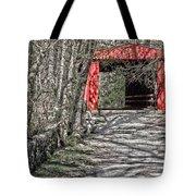 Thomas Mill Covered Bridge Tote Bag
