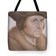 Thomas More Tote Bag by Hans Holbein the Younger