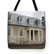 Thomas Sessions House Yorktown Tote Bag by Teresa Mucha