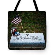 Thomas W. Teller Tote Bag