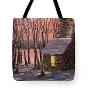 Thoreau's Cabin Tote Bag by Jack Skinner