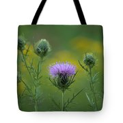 Thorn Buds Tote Bag
