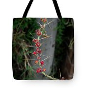 Thorns And Blooms Tote Bag