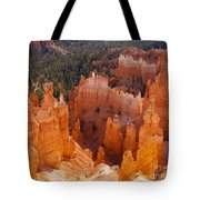 Thor's Hammer At Bryce Canyon In Utah Tote Bag by Alex Cassels