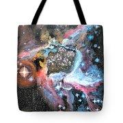 Thor's Helmet Nebula Tote Bag
