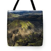 Thorsmork Valley In Iceland Tote Bag