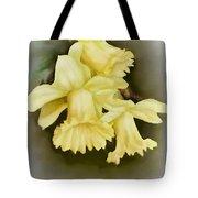 Those Blooming Daffadils Tote Bag