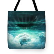 Those Who Have Departed - Celestial Version Tote Bag