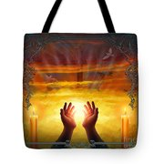 Those Who Have Departed - Religious Version Tote Bag by Bedros Awak