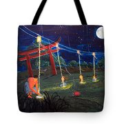 Those Who Light Their Lamps Tote Bag