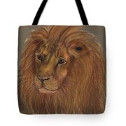 Thoughtful Lion 2 Tote Bag