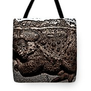 Thoughtful Toad Tote Bag