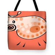 Thoughts And Colors Series Pig Tote Bag