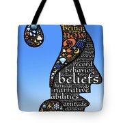 Thoughts And Words Tote Bag
