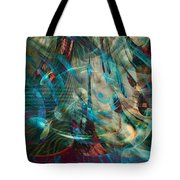 Thoughts In Motion Tote Bag
