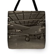 Thoughts Of Midnite P-38 3 Tote Bag