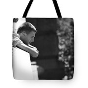 Thoughts Pushed Down  Tote Bag