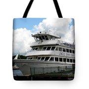 Thousand Islands Saint Lawrence Seaway Uncle Sam Boat Tours Tote Bag