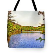 Thousand Trails Preserve Natchez Lake  Tote Bag