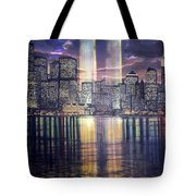 Thousands Of Yellow Ribbons Tote Bag