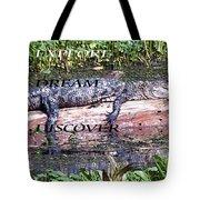 Thr Gator Tote Bag