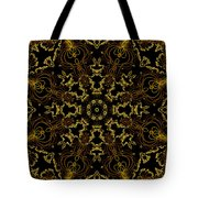 Threads Of Gold And Plaits Of Silver Tote Bag