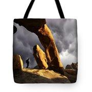 Threatening Skies Tote Bag