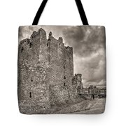 Threave Castle In Grey Tote Bag
