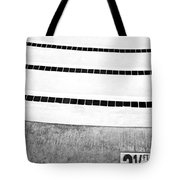 Three And A Half Bw Palm Springs Tote Bag