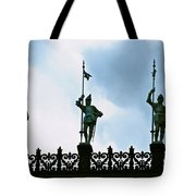 Three Armored Guards Tote Bag
