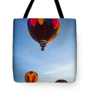Three Balloons Tote Bag by Inge Johnsson