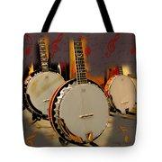 Three Banjoes Tote Bag