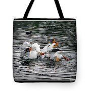 Three Bottoms Up Tote Bag